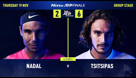 Tsitsipas: Against Nadal, It's 'Every Man For Himself'