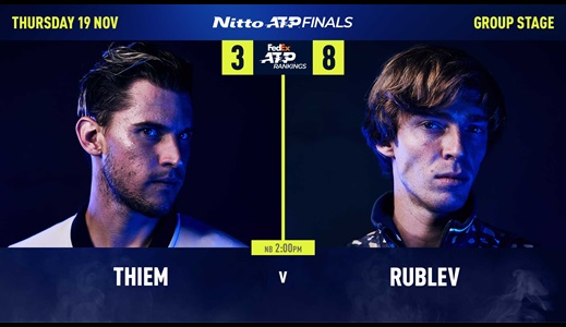 Preview: Rublev, Thiem Seek Different Prizes