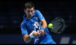 Djokovic Nitto ATP Finals 2020 Day 6 Backhand