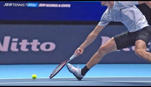 Video Review Confirms Not-Up Call In Djokovic-Zverev Match