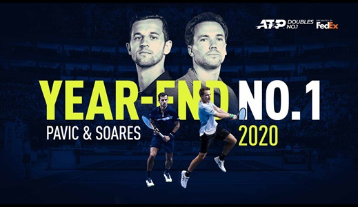 Pavic & Soares Clinch Year-End No. 1 ATP Doubles Team Ranking