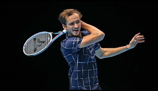 Medvedev Stuns Nadal, Earns Shot At Nitto ATP Finals Title