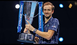 Daniil Medvedev becomes the fifth consecutive first-time Nitto ATP Finals champion by beating Dominic Thiem in three sets.