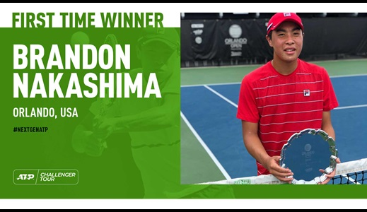 Challenger First-Time Winner Spotlight: Brandon Nakashima