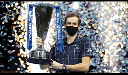 Daniil Medvedev is the first player to beat the Top 3 players in the FedEx ATP Rankings in a single edition of the Nitto ATP Finals.