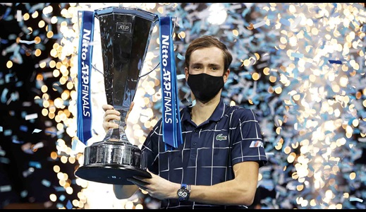 WhatsApp and Formula 1: Medvedev's First 24 Hours As Nitto ATP Finals Champion