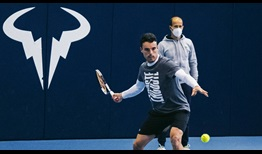 Roberto Bautista Agut trained with Rafael Nadal in Mallorca ahead of their trip to Australia.