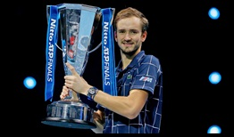 Daniil Medvedev won the biggest title of his career at the 2020 Nitto ATP Finals.