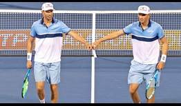 Mike Bryan and Bob Bryan retired last August following their illustrious careers, which lasted more than two decades.