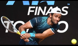 Matteo Berrettini will attempt to qualify for the Nitto ATP Finals for the second time in three years.