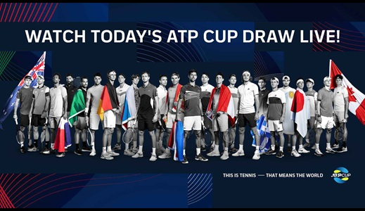 2021 ATP Cup Draw On Friday; Captains Announced