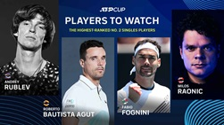 ATP Cup No. 2 singles players