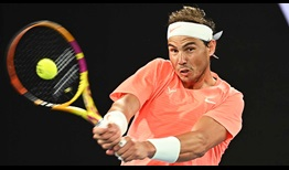 Nadal Australian Open 2021 Day 6 Backhand