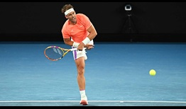 Nadal Australian Open 2021 Day 6 Serve