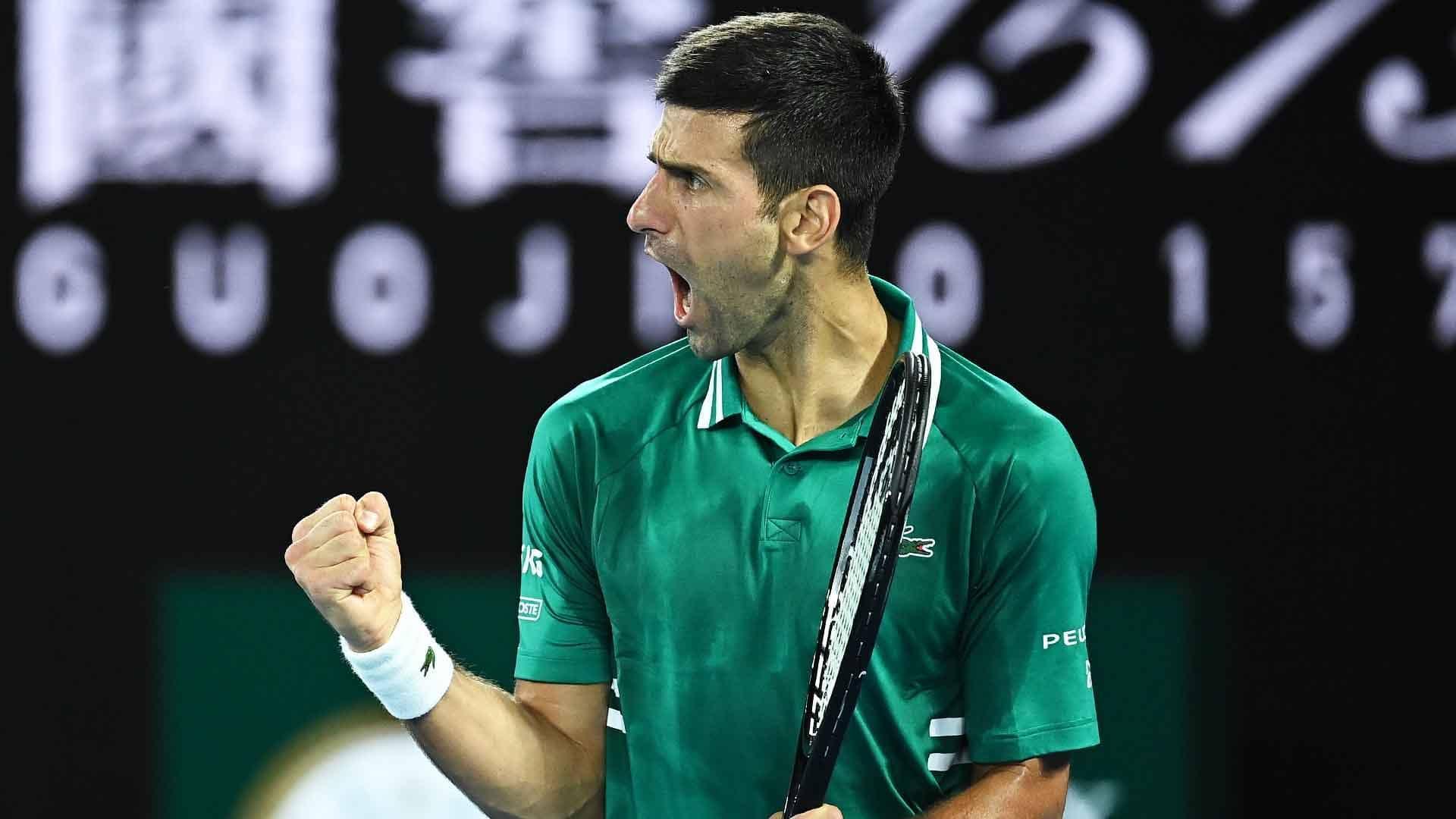 Djokovic Repeats Zverev Win, Reaches Ninth Australian Open Semi-final - ATP Tour