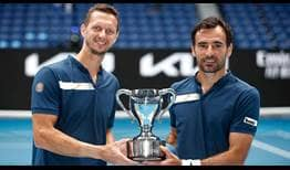 Polasek-Dodig-Australian-Open-2021-Final-Trophy