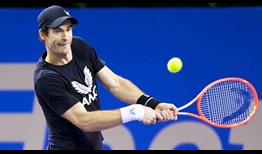 Murray Montpellier 2021 Practice Backhand