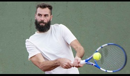 Benoit Paire is the second seed at this week's Cordoba Open.