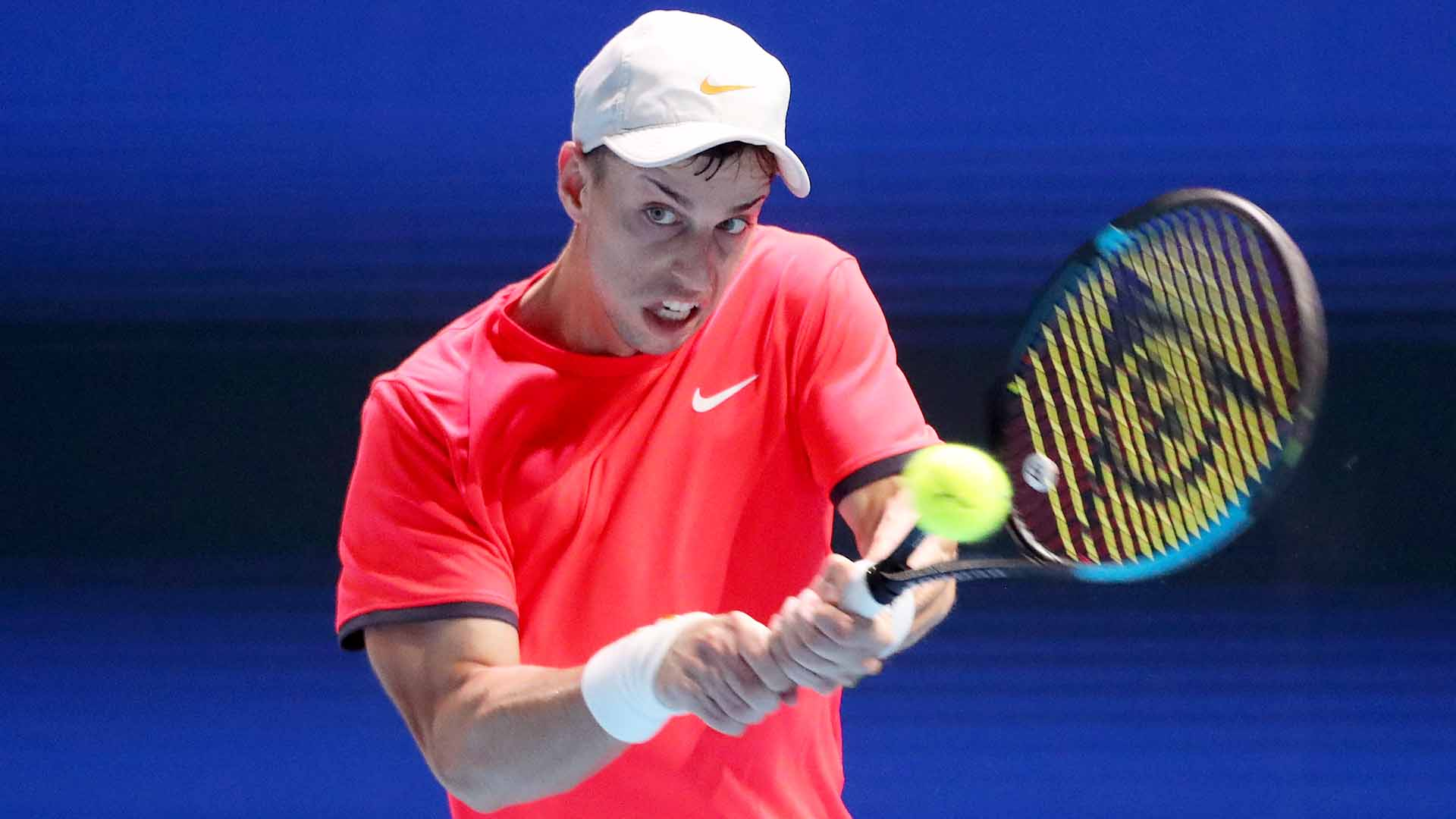 <a href='https://www.atptour.com/en/players/adrian-andreev/a0ab/overview'>Adrian Andreev</a> saves 12 of 15 break points to overcome <a href='https://www.atptour.com/en/players/lloyd-harris/hg86/overview'>Lloyd Harris</a> at the <a href='https://www.atptour.com/en/tournaments/singapore/9460/overview'>Singapore Tennis Open</a>.