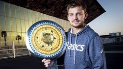David Goffin survived three deciding sets en route to the Open Sud de France title.