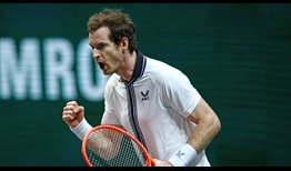 Andy Murray remontó ante Robin Haase para alcanzar la segunda ronda en ABN AMRO World Tennis Tournament.