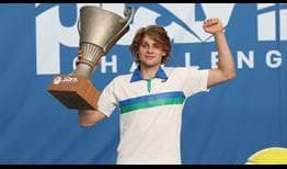 Zizou Bergs is the champion in Lille, claiming his second ATP Challenger Tour title.