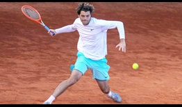 Taylor Fritz is yet to drop a set at the Sardegna Open.