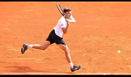 David Goffin saves all six points he faces to defeat Alexander Zverev at the Rolex Monte-Carlo Masters.