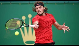 Fourth seed Stefanos Tsitsipas books his place in the Monte-Carlo semi-finals on Friday.