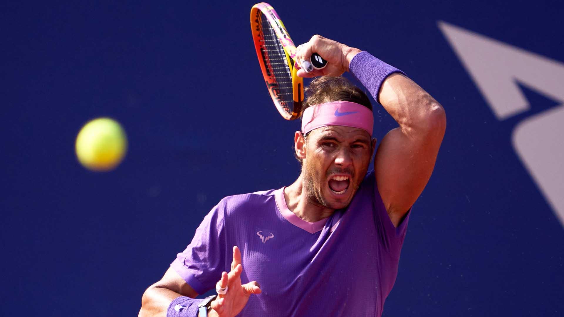 Rafael Nadal Books Tsitsipas Final Clash In Barcelona - ATP Tour