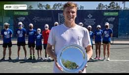 Jenson Brooksby is the champion in Tallahassee, claiming his third ATP Challenger Tour title of 2021.