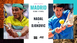Nadal, Djokovic, Madrid 2009