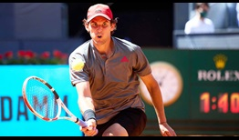 Dominic Thiem is making his sixth appearance at the Mutua Madrid Open.