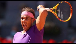 Rafael Nadal is making his 18th appearance at the Mutua Madrid Open.