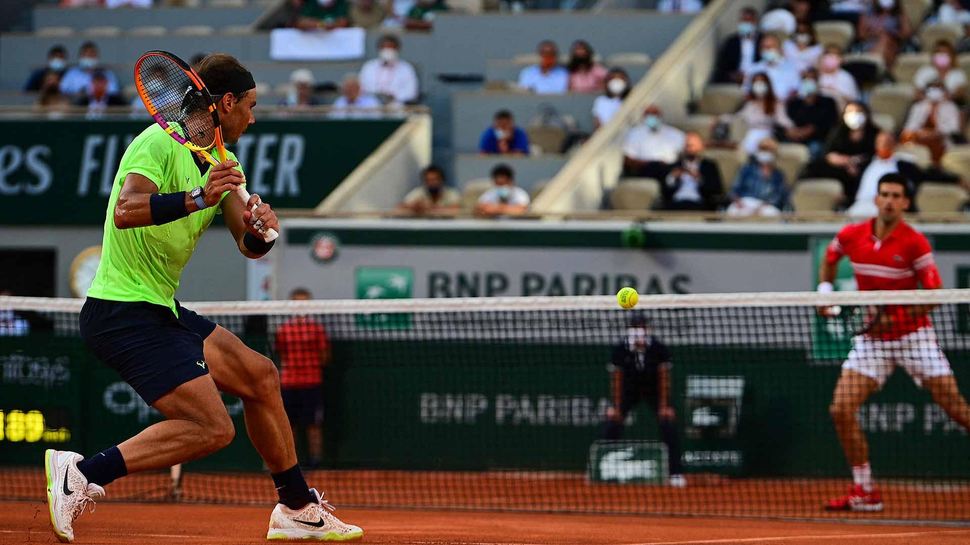 Novak Djokovic Dethrones Rafael Nadal After Roland Garos Epic | ATP Tour |  Tennis