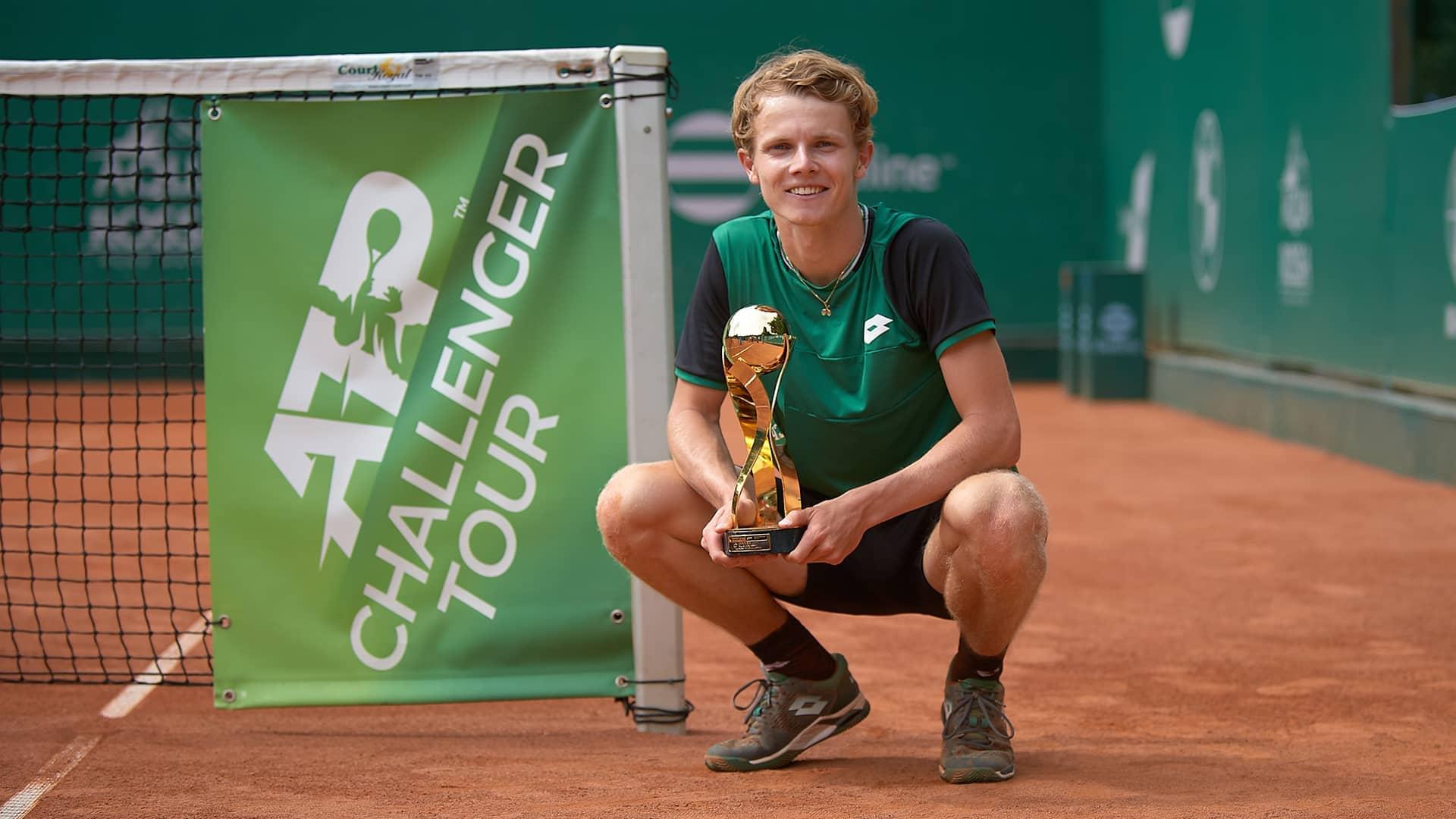 Challenger #NextGenATP First-Time Winner: Jesper de Jong | ATP Tour