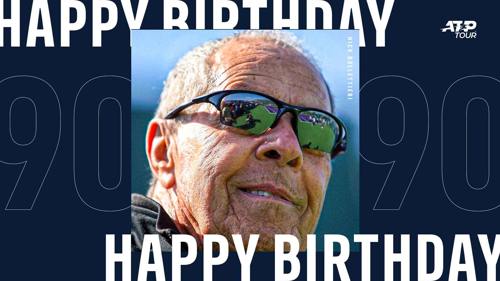 Happy 90th Birthday, Nick Bollettieri