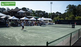 The fans and the Har-Tru courts at The Landings Club help make the Savannah Challenger a well-liked tournament.