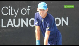Alex De Minaur has surged to World No. 248 in the Emirates ATP Rankings.