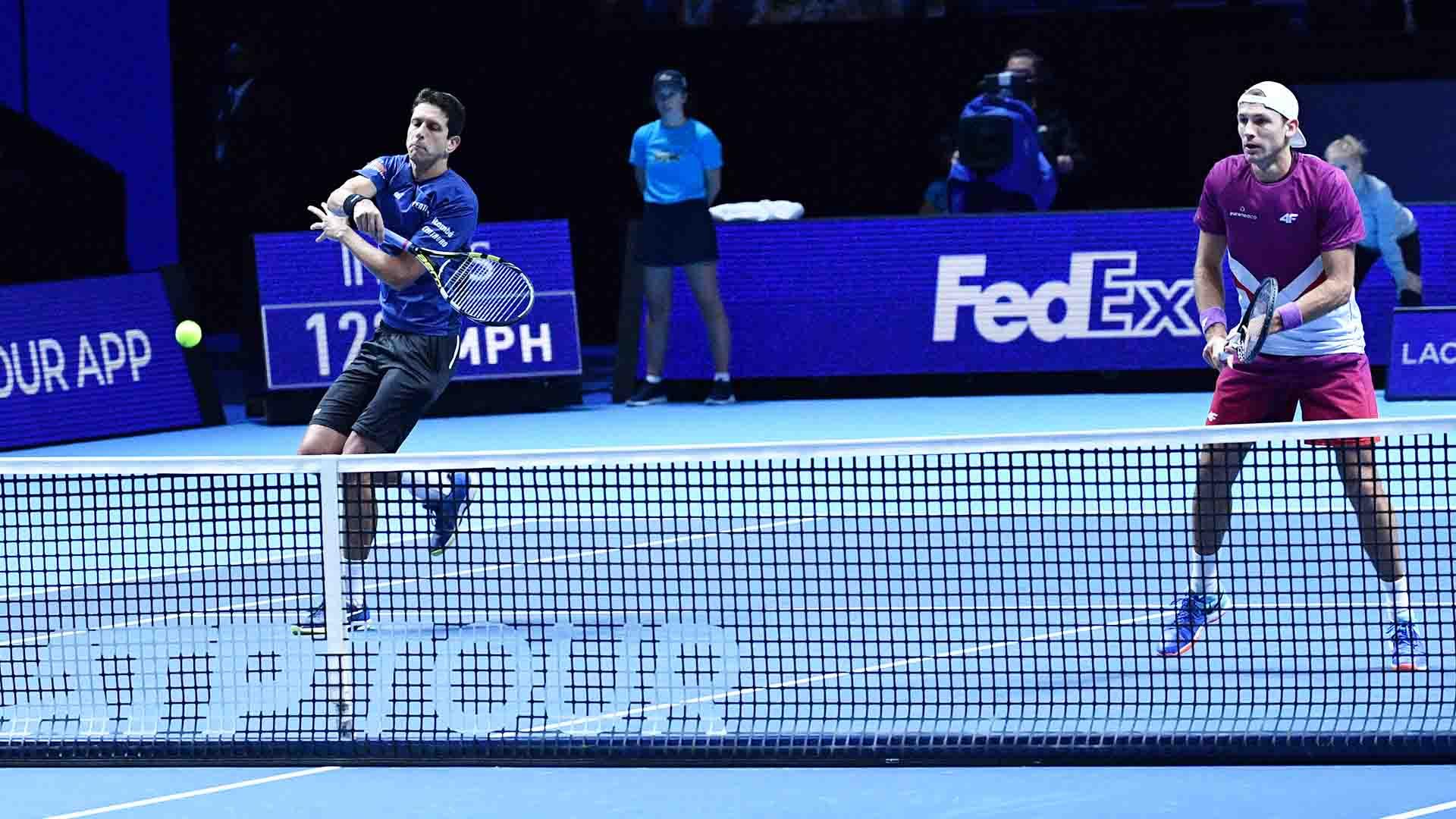 ATP Finals. Мело и Кубот одержали боевую победу на старте соревнований