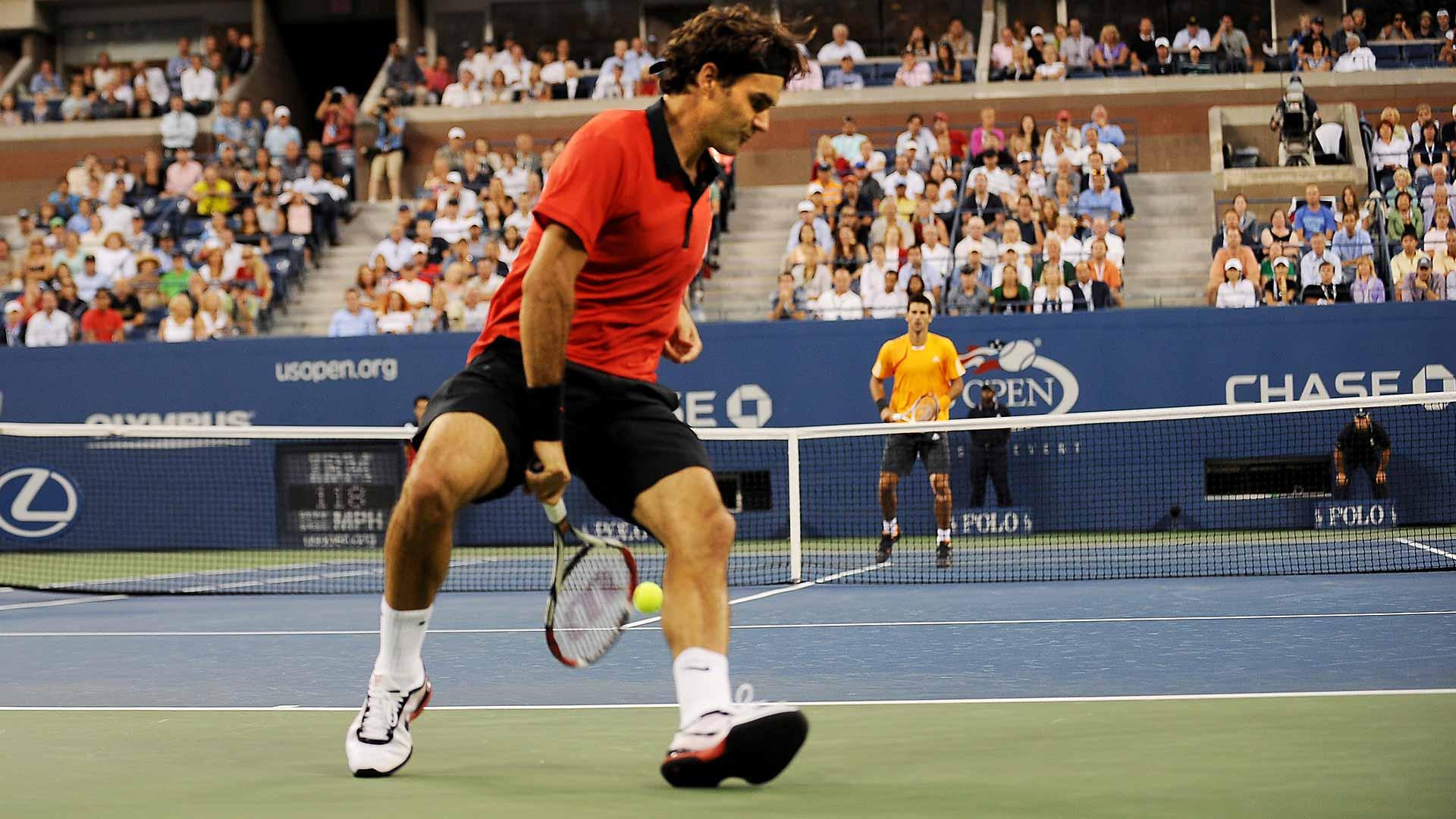 Djokovic Vs Federer Us Open Rivalry Renewed Atp Tour Tennis