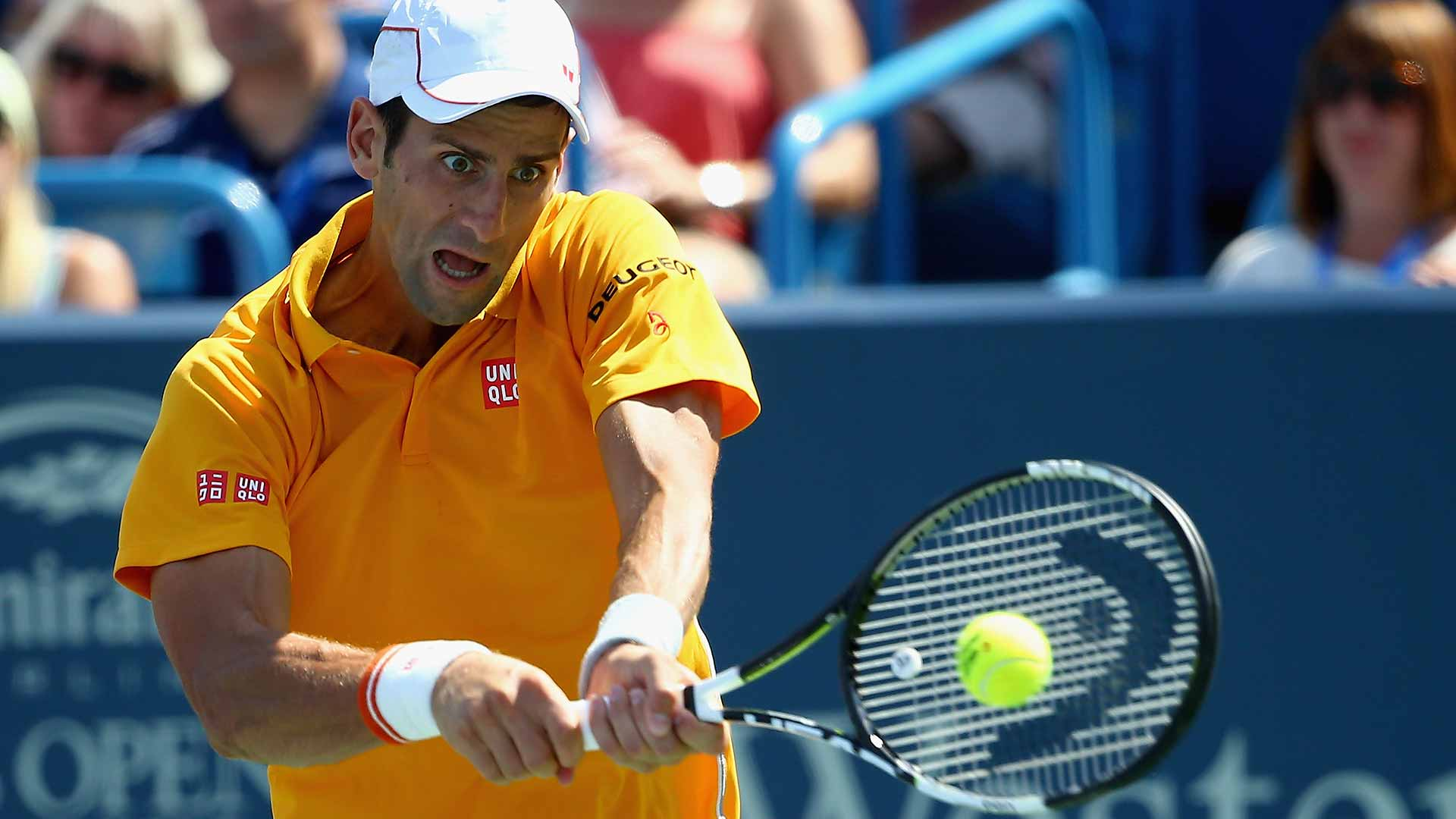 Djokovic Fights Into Cincinnati Final Atp Tour Tennis