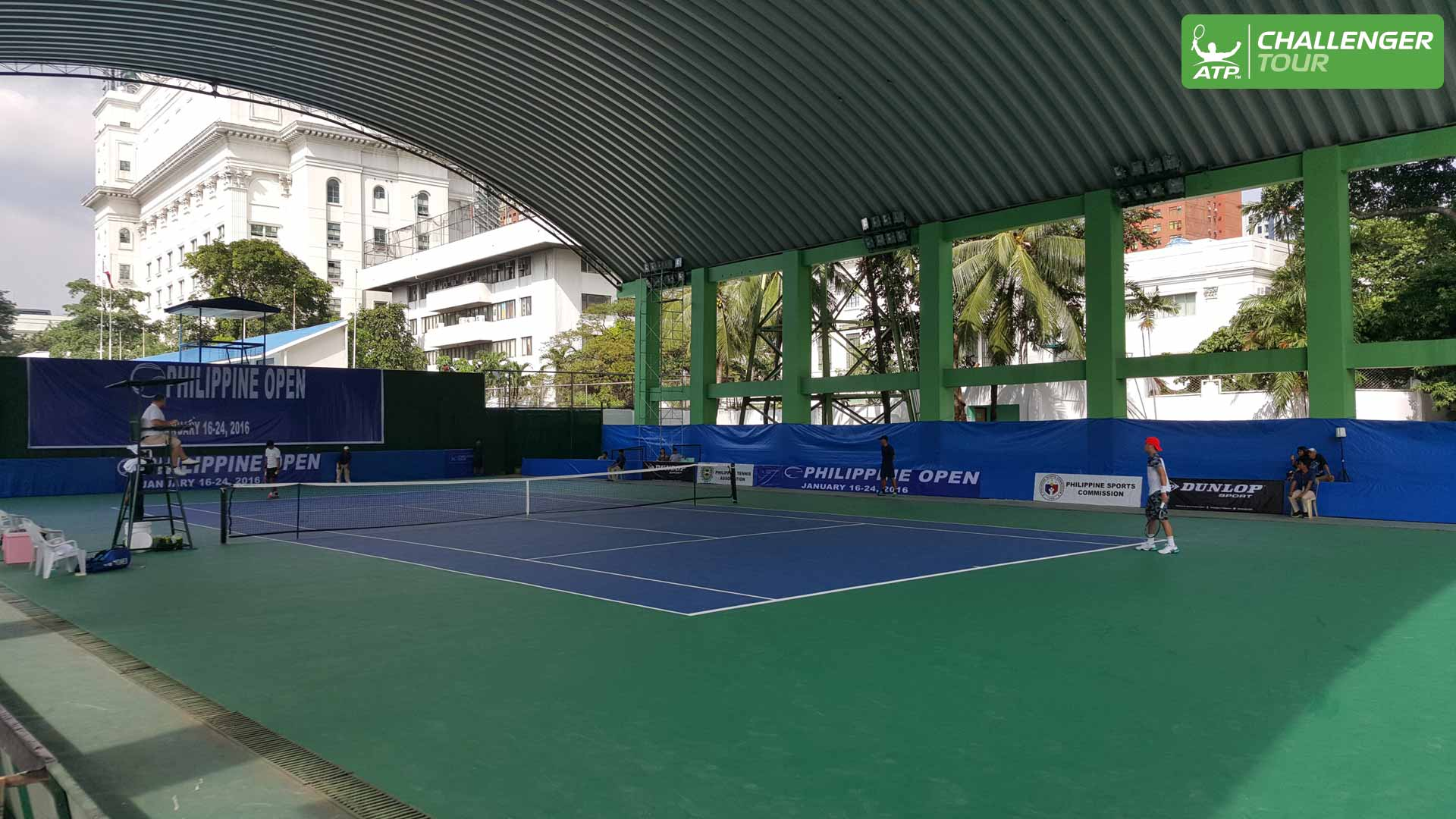 Challenger Tennis Back In Manila After 22 Years Atp Tour Tennis