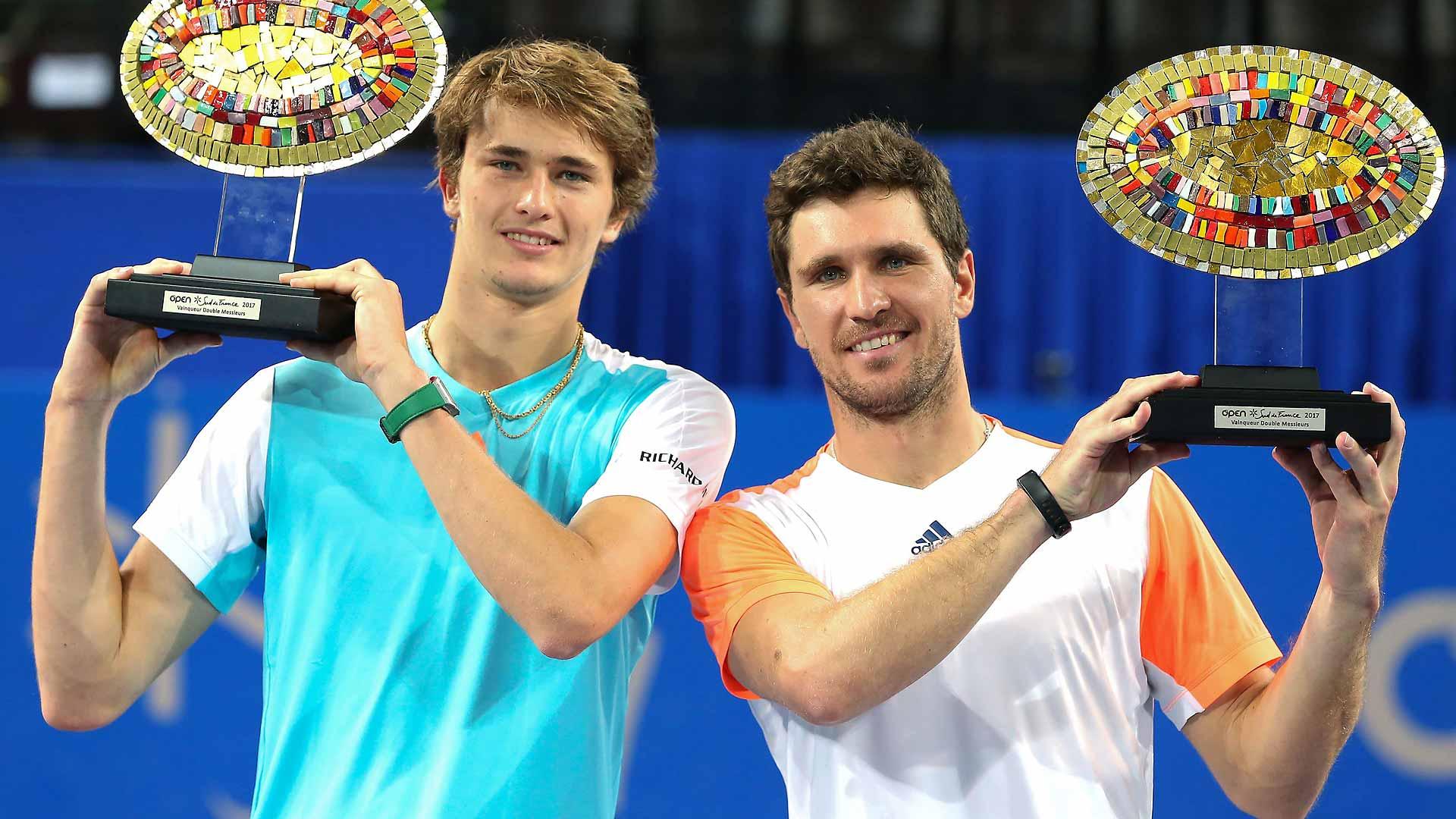 Double Delight As Zverevs Triumph In Montpellier Atp Tour Tennis