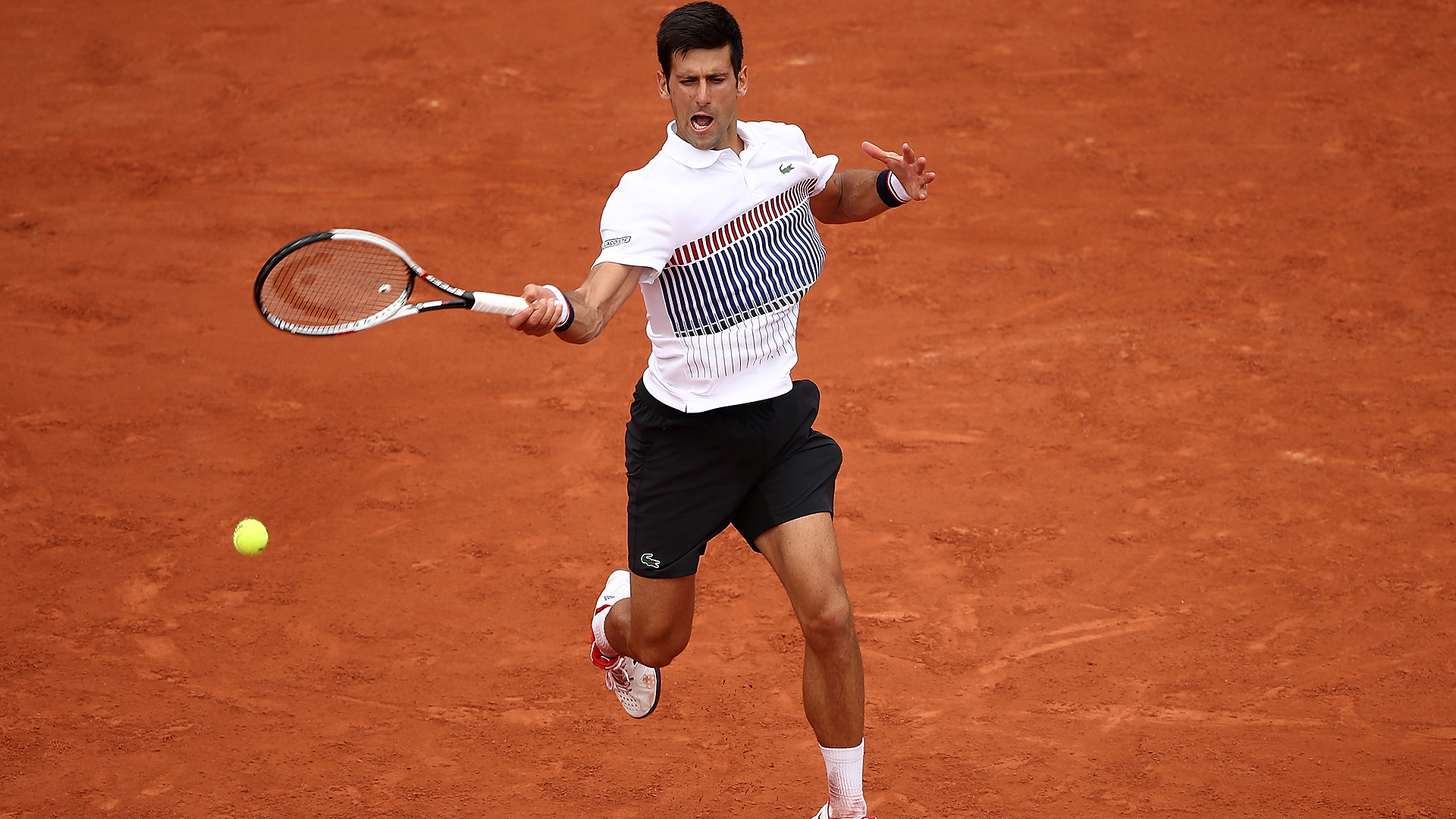 New Look Djokovic Opens Roland Garros Campaign Atp Tour Tennis