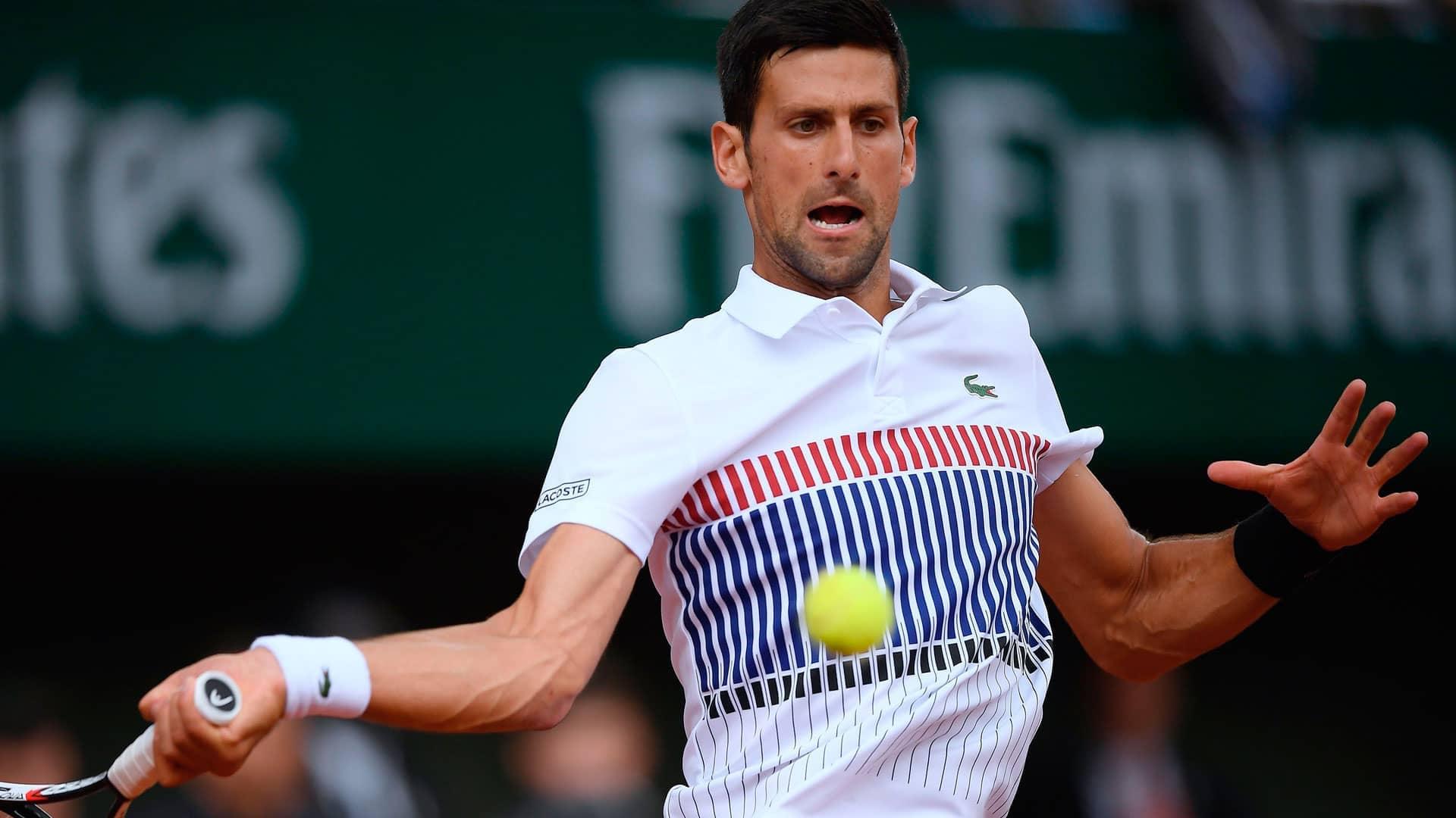 Djokovic Survives In Five At Roland Garros Atp Tour Tennis