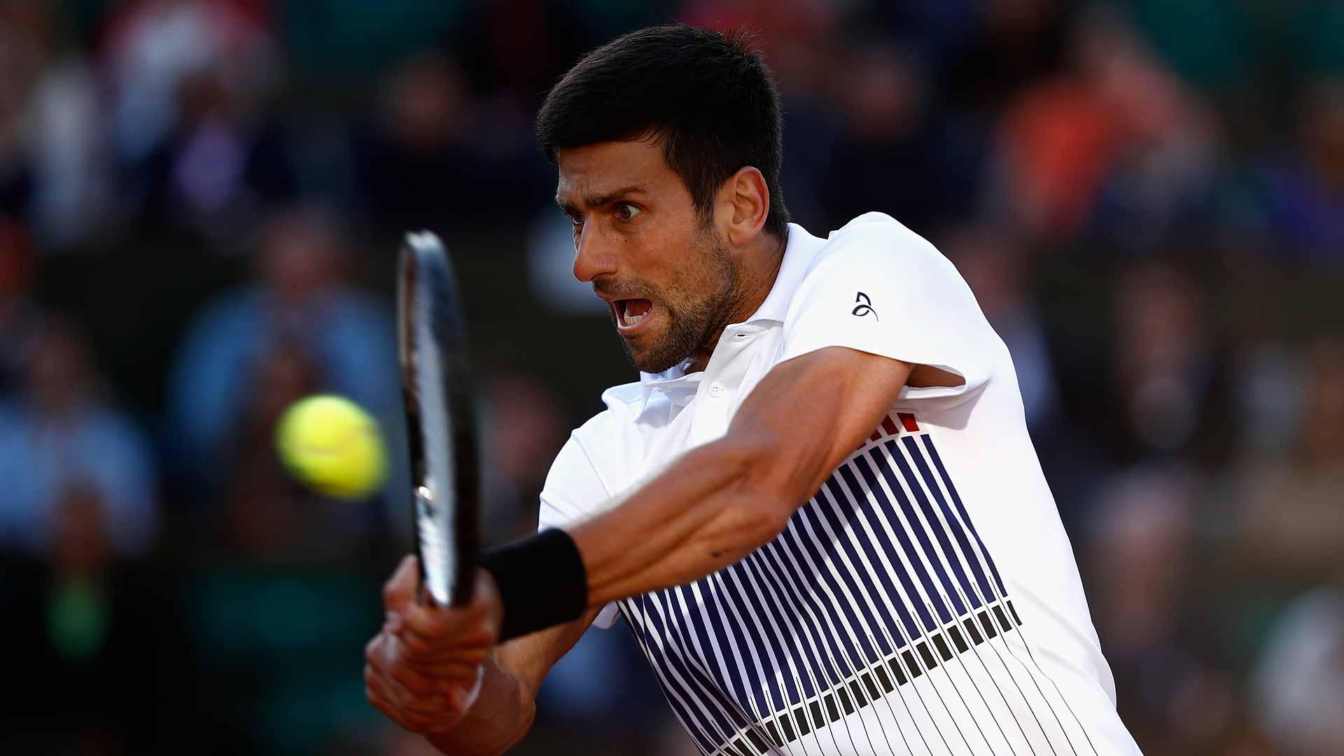 Djokovic Streaks Into Roland Garros Quarters Atp Tour Tennis