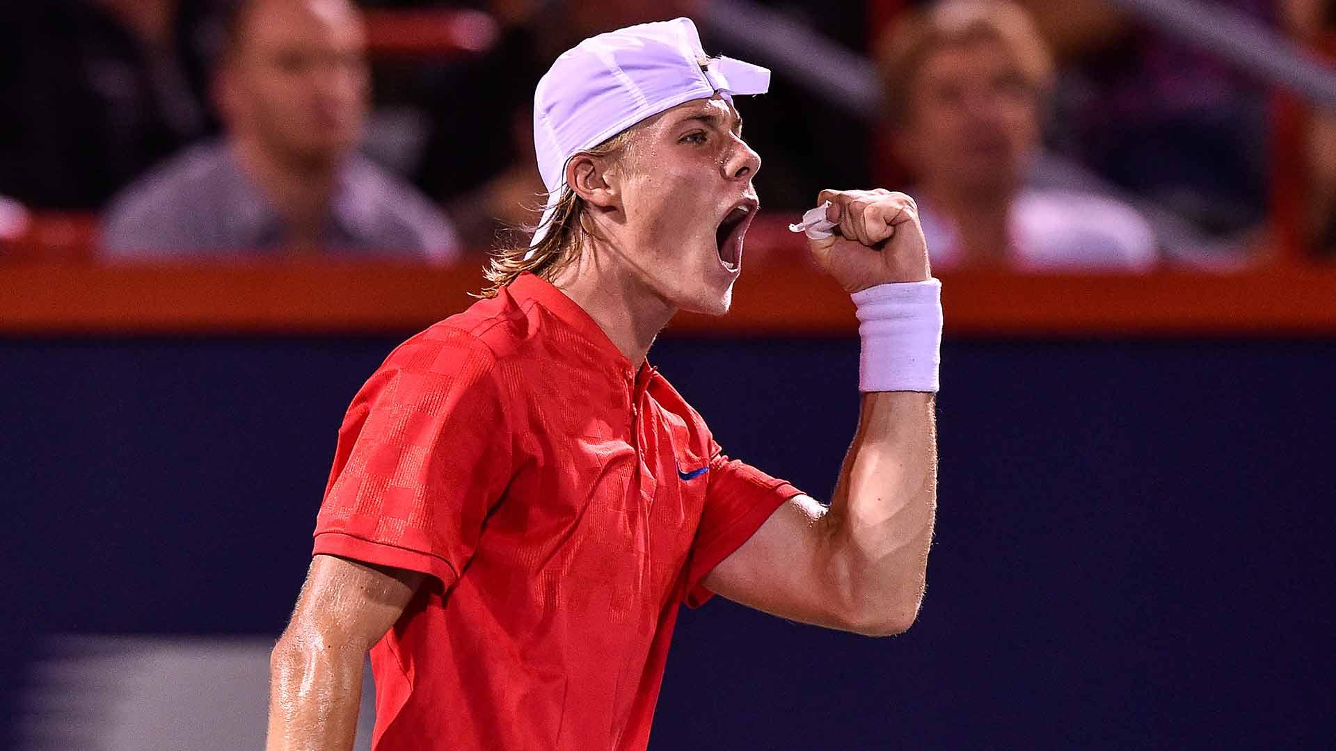 Nextgenatp Canadian Denis Shapovalov Stuns Rafael Nadal In Montreal Atp Tour Tennis