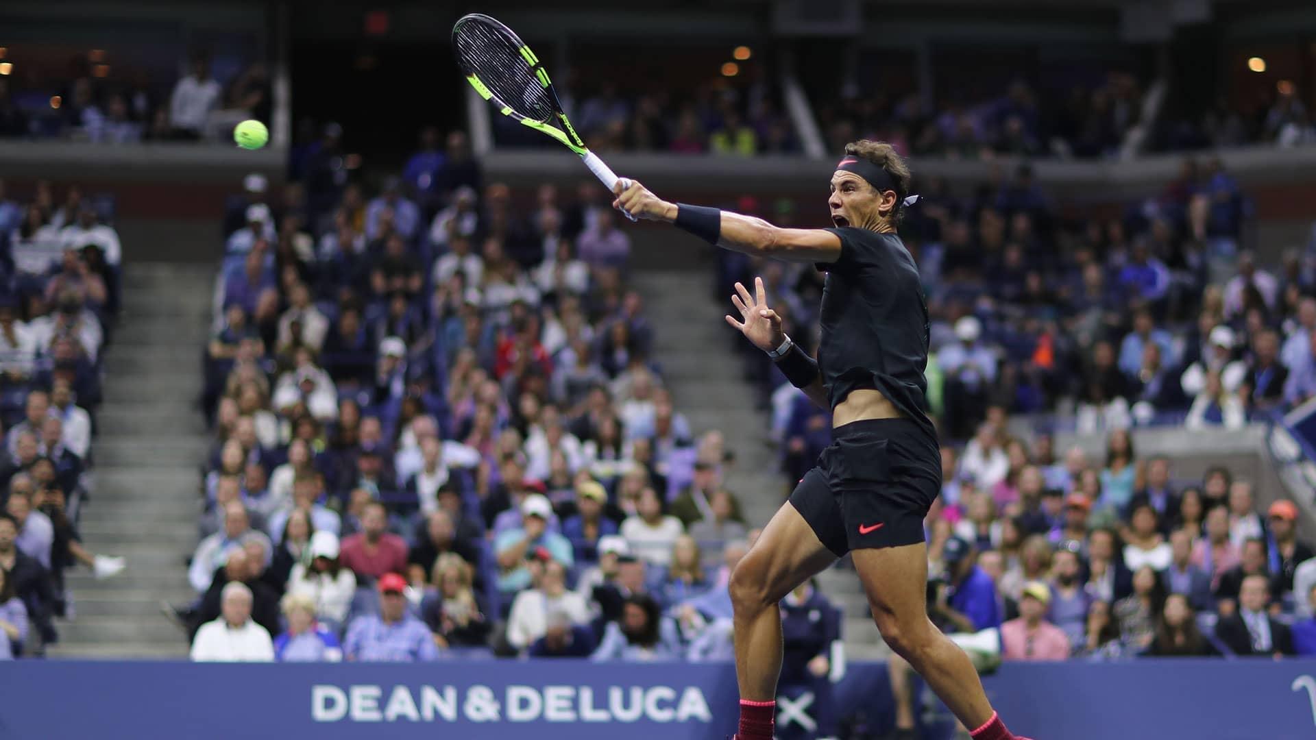 Ruthless Rafa Sprints Into Us Open Final Atp Tour Tennis