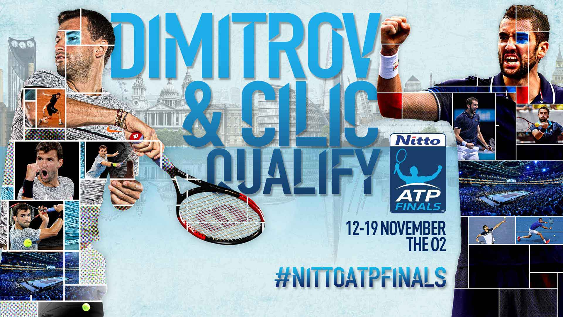 Dimitrov Cilic Qualify For Nitto Atp Finals Atp Tour Tennis